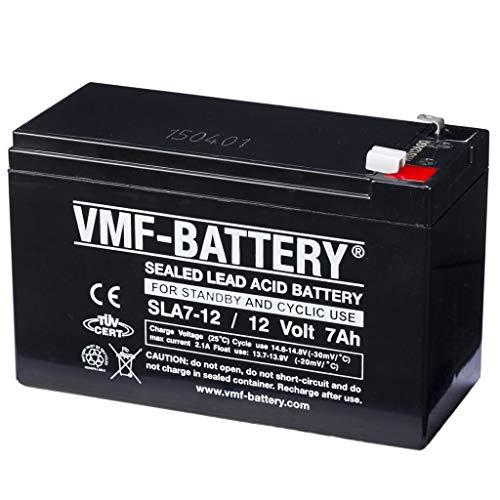 FIAMM FG20721 USV-Batterie 7,2 Ah 12 V - USV-Batterien (Schwarz, 7,2 Ah, 12 V, 1 Stück(e), 5 Jahr(e), 2,43 kg)