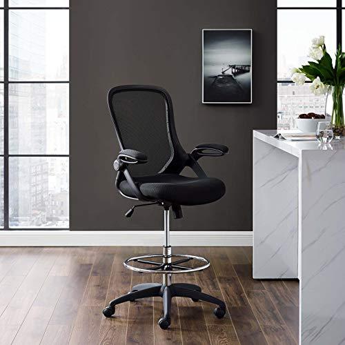 Modway Silla de Oficina, Negro, 69 x 67 x 113 cm