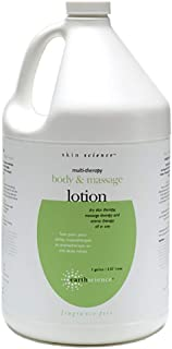 EARTH SCIENCE - Unscented Hand and Body Massage Lotion for All Skin Types (1 Gallon)