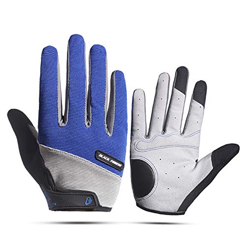 TOISGO Full Finger Workout Gloves, Gym Exercise Gloves for Cycling Training Fitness Exercise Suit for Men & Women
