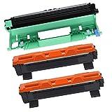 Office Ink Toner Cartuccia toner TN1050 TN-1050 2 pezzi + unità tamburo DR1050 1 pezzo compatibile per Brother HL-1110 DCP-1510 HL-1210W DCP-1610W HL-1112 MFC-1810 HL-1212W MFC-1910W DCP-1612W