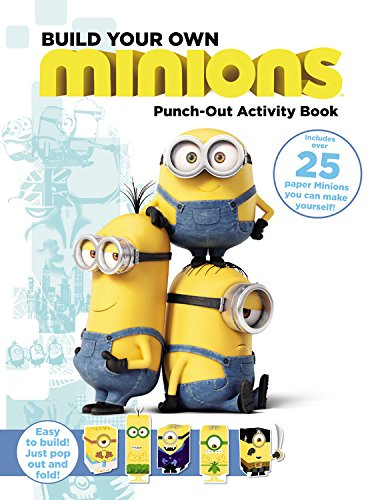Minions: Build Your Own Minions Punch-Out Activity Book