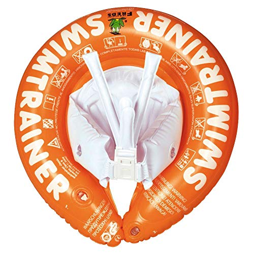 Freds Swim Academy 10220 - Schwimmtrainer Classic, 2 bis ca. 6 Jahre, orange