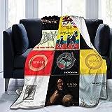DesireJCuevas The Avett Brothers Flannel Fleece Blanket Super Soft Warm Cozy Lightweight Easy Care All Season Premium Bed Blanket Available in Three Sizes 50' X 40',60'x50',80'x60'inch