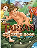 Tarzan Coloring Book: Tarzan Creative Coloring Books For Kids And Adults, A Perfect Gift