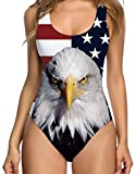 American Flag Independence Day 4th of July 3D Bodysuit Pro...