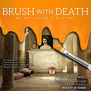 Brush With Death audiobook cover art