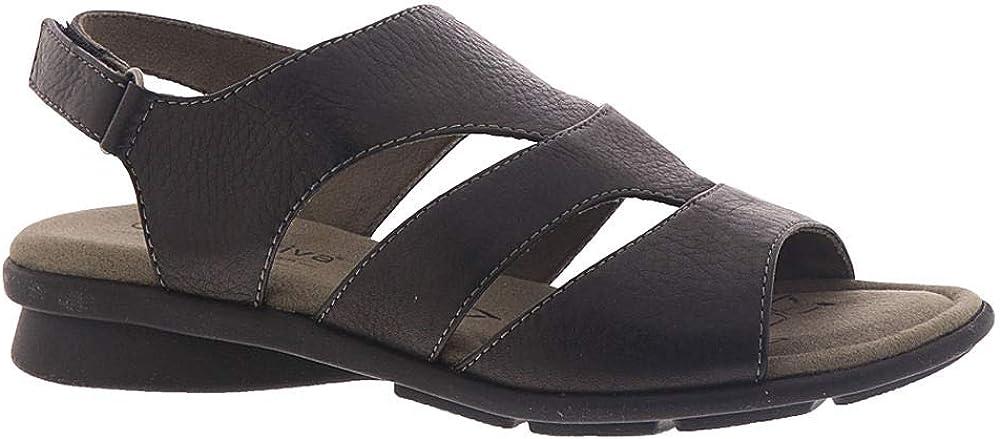Comfortiva オンラインショップ Womens Parma Leather Memory Sandals Slingback ブランド買うならブランドオフ Foam
