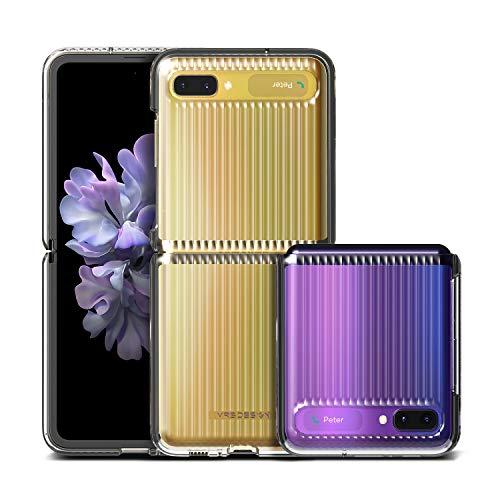VRS DESIGN Damda Slate for Galaxy Z Flip Case (2020) Clear