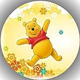 Fondant Tortenaufleger Tortenbild Geburtstag Winnie Pooh T34
