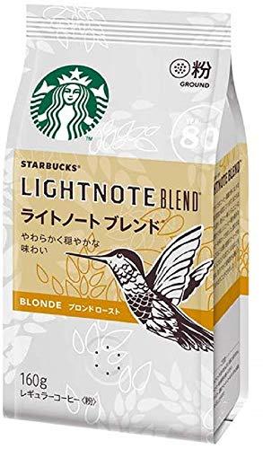 ネスレ日本 スターバックス コーヒー ライトノート ブレンド 1袋(160g) ネスレ日本