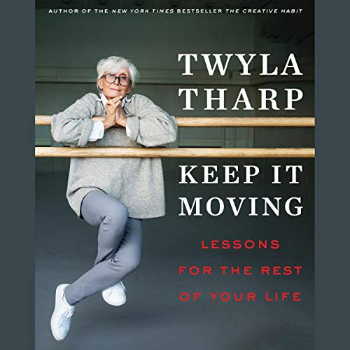 Keep It Moving audiobook cover art