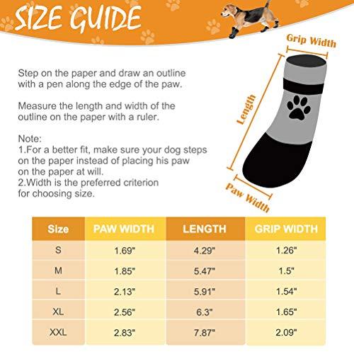 BINGPET Dog Socks For Hardwood Floors