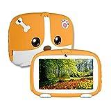 tablet para niños de 7 Pulgadas máquina de Aprendizaje Pantalla táctil HD procesador de Cuatro núcleos con Funda de Silicona Android