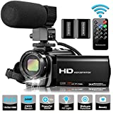 Best Camcorders - Video Camera Camcorder with Microphone, VideoSky FHD 1080P Review