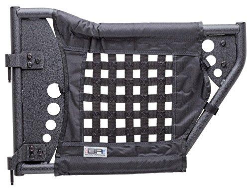 Body Armor 4x4 JK-6140 GEN 3 Black Rear Trail Door for Jeep JK