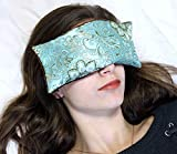 Candi Andi Handmade Eye Pillow - Flax Seed Fill - Lavender Scented - Blue Lagoon - TEPL-BL