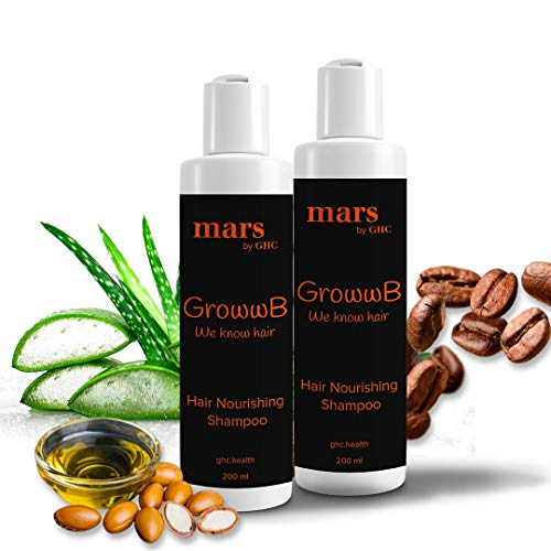 mars by GHC Anti Hair Fall Shampoo | Extra Rich Conditioning | Aloe vera for Stronger Hair , 200ml | DHT Blocker | NO Sulphate and NO Paraben