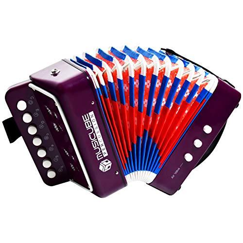 MUSICUBE Kids Accordion Instrument