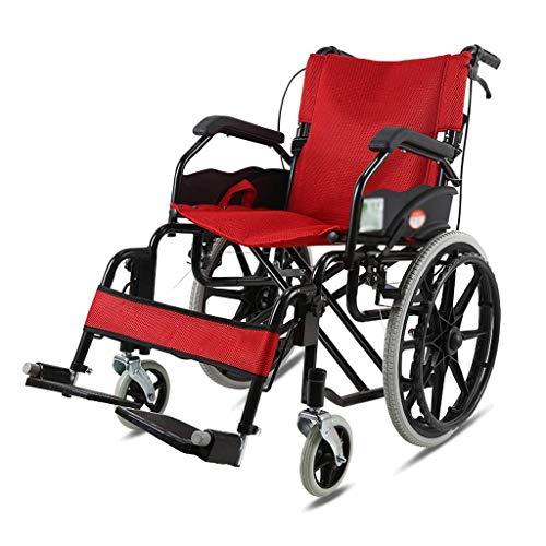 Y-L Elderly Disabled Foldable Rolstoel Travel Elderly Adult Small Portable Ultra Light Rolstoel voor gehandicapten Mobility Rolstoel Rolstoel