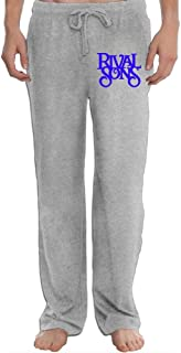 Hefeihe Rival Sons RS Band Logo Men's Sweatpants Lightweight Jog Sports Casual Trousers Running Training Pants