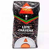 Delta Cafe Lote Chavena - 1 Kg - grano - Portugal (Natural, 1 Kg)
