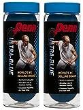 Penn Ultra-Blue Racquetballs (2 cans), 3 Ball can