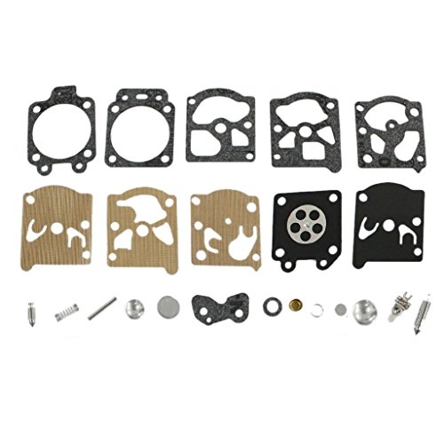 TucParts Kit de reparación de carburador para Walbro K20 WAT WA WT Carburador Stihl 017 021 023 024 025 026 1121 1130 MS210 FS80 FS85 FS220 FS280 FS290 Dolmar 100 102/340 400 BC-250 330 #4211 007 1060