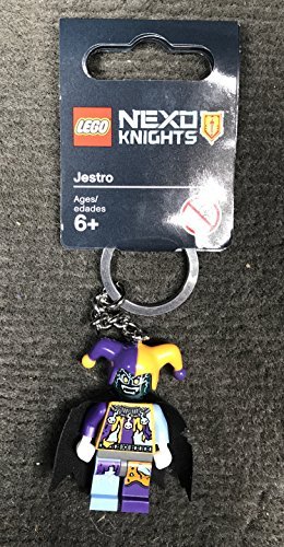 LEGO Nexo Knights Jestro Portachiavi, del gioco di costruzioni, 6anni