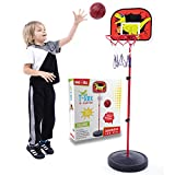 whoobli Basketball Hoop for Kids Ages 3-5 Years with Adjustable Height, Perfect for Mental & Physical Health of Kids, Toddlers