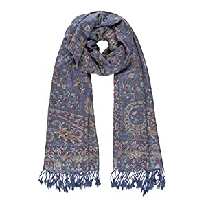 Scarf for Women Spanish Design Elegant Long Shawl Scarves for Fall Winter