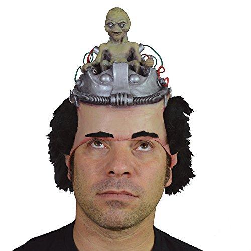 Trick or treat - MAHAL701 - Masque latex adulte alien aux commandes