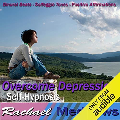 Overcome Depression Hypnosis audiobook cover art
