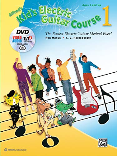 Alfred's Kid's Electric Guitar Course 1: The Easiest