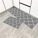 Alfombra de piso de cocina bohemia alfombra antideslizante...