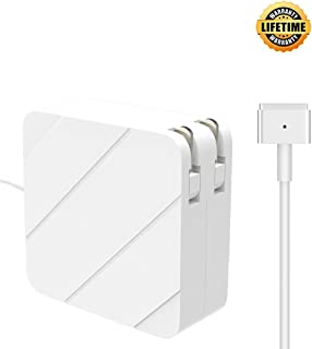 Mac Book Air Charger, Replacement 45W MagSafe 2 Power Adapter Magnetic T-Tip Ac Charger for MacBook Air 11-inch and 13-inch (45W)