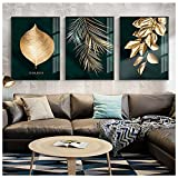 Canvas Painting 3 Pieces Of Murals, Used in Living Room Bedroom Bathroom Decoration Office Home Decoration Modern Living Room Abstract Art (3 sets of frameless 16x24inch)