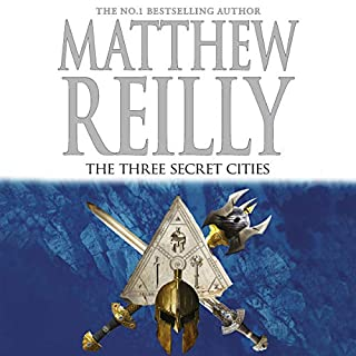 The Three Secret Cities     Jack West Junior, Book 5              By:                                                                                                                                 Matthew Reilly                               Narrated by:                                                                                                                                 Sean Mangan                      Length: 13 hrs and 21 mins     341 ratings     Overall 4.7