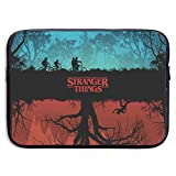 Darkt Stranger Things Laptop Sleeve Bag Compatible 13-Inch MacBook Pro Stylish Soft Neoprene Sleeve Case Bag Compatible 15 Inch Laptop,Notebook Computer with Small Case