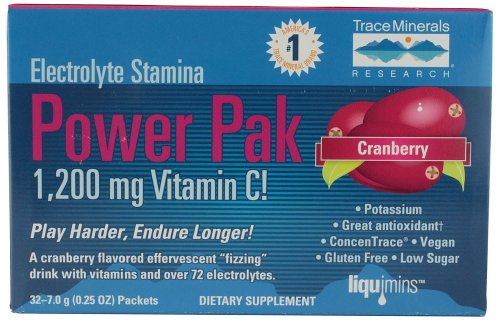 trace minerals PowerPak Cranberry 30 Tütchen
