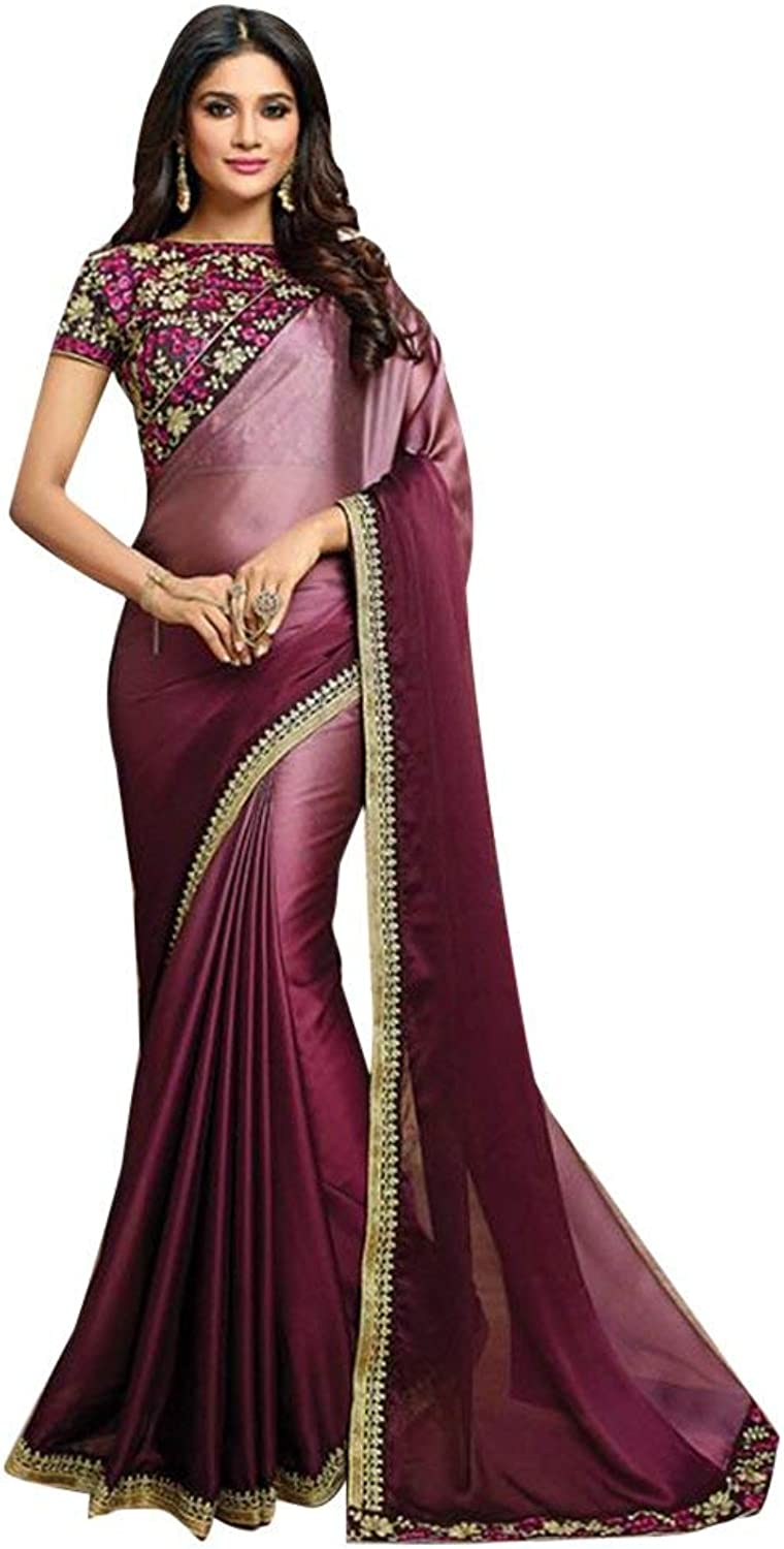 Designer Bollywood Saree Sari for Women Latest Indian Ethnic Collection Blouse Party Wear Festive wedding 943 2