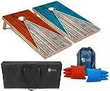 Best Cornhole Boards - Tailgating Pros Pyramid Cornhole Board Set w/Bean Bags Review