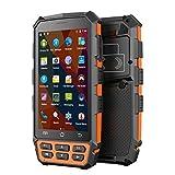 Wenhu Handheld Device Data Collector Android 7.0 OS Mobile UHF RFID Lecteur 1D 2D Barcode Scanner capteur d'empreintes digitales,Finger2D