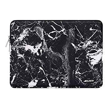 MOSISO Laptop Sleeve Only Compatible with MacBook 12 inch with Retina Display A1534 2017/2016/2015 Release Polyester Disorderly Texture Marble Bag with Pocket