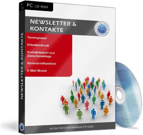 Kontaktverwaltung Software - Newsletter und Kontakte, Etiketten, Serienbriefe