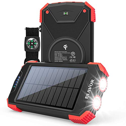 Solar Charger Power Bank  Only $25.49!