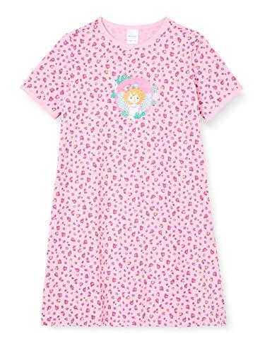 Schiesser Mädchen Prinzessin Lillifee 1/2 Nachthemd, Rot (Rosa 503), (Herstellergröße: 104)