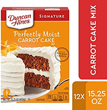 12-Pack Duncan Hines Signature Perfectly Moist Carrot Cake Mix