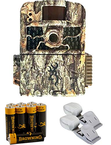Browning Strike Force HD Max Trail Camera with 2 Pack Mounting Strap & Browning AA Alkaline Batteries & Card Reader!
