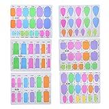 Manicura portátil extensión fibra de vidrio DIY uñas arte herramientas para DIY para el diseño de uñas para la belleza para uso en el hogar